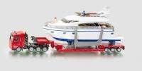 Schwertransport mit Yacht