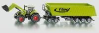 Traktor mit Frontlader, Dolly und Mulden