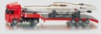 LKW mit Power-Boat  1:50