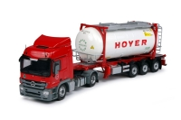 MB Actros MP3 mit Tankcontainer 1:50