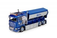 Scania R Lowline mit Abrollbeh. 1:50