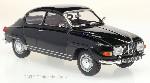 Saab 96 V4, schwarz, 1970 1:24