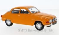 Saab 96 V4, orange, 1970  1:24