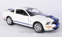 Shelby Cobra GT500, weiß blau 1:24