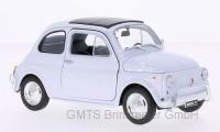 Fiat 500, weiss 1:24