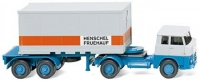 Containersattelzug,Henschel HS14/16 1:87