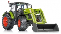 Claas Arion 650 mit Frontlade; 1:32