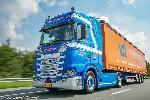 Scania CR20H 4x2 m. Gardinenplanene 1:50