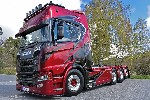 Scania CR20H 8x4 Abrollcontainerfah 1:50
