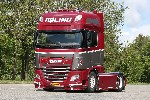 DAF SSC 4x2 mit Containerchassis 1:50
