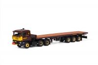 DAF 3600 - Classic flatbed trailer; 1:50